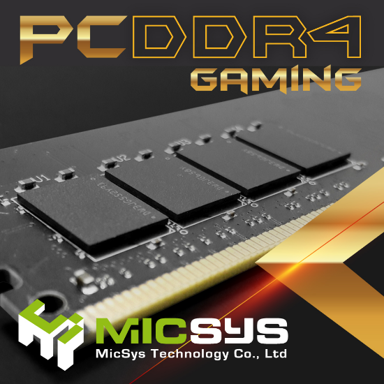 Taiwan gaming memory module 4 gb 2400mhz ram ddr4 with high quality